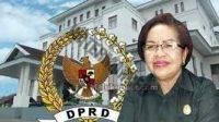 Sekretaris Komisi IV DPRD Maluku, Justina Renyaan.
