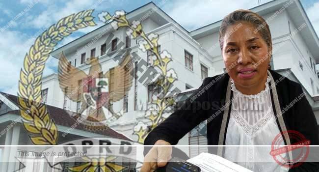 Ketua Komisi II DPRD Maluku, Saodah Tethool