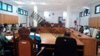 Perwakilan Penerima BST menyampaikan beberapa hal ke DPRD Malra