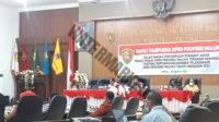 Kata Akhir Fraksi Gerindra disampaikan Anggota Fraksi Hatta Hehanussa Dalam Sidang Paripurna DPRD Maluku terhadap Laporan Pertanggungjawaban Gubernur Tahun Anggaran 2020